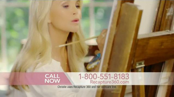 Christie Brinkley Authentic Skincare Recapture 360 TV Spot, 'Confession' - 225 commercial airings