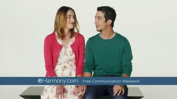 eHarmony Free Communication Weekend TV Spot, \'Introduction\'