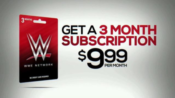 WWE Network Gift Card TV Spot, 'What Can Your Family Do?' - Thumbnail 8