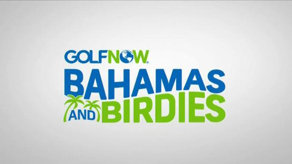 Golf Now Bahamas and Birdies with Justin Rose Sweepstakes TV Commercial, 'Trip'