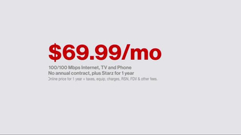 Fios by Verizon TV Spot, 'The Wagners: 100 Mbps' - Thumbnail 4