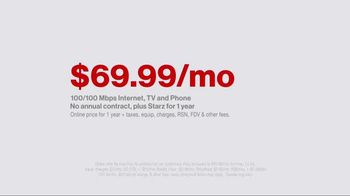 Fios by Verizon TV Spot, 'The Wagners: 100 Mbps' - Thumbnail 5