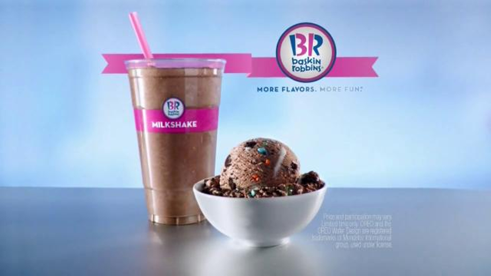 BaskinRobbins TV Commercial Oreo Birthday Cake iSpottv