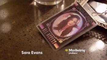 Myrbetriq My Big Break TV Spot, '2016 CMA Awards' Featuring Sara Evans - Thumbnail 1