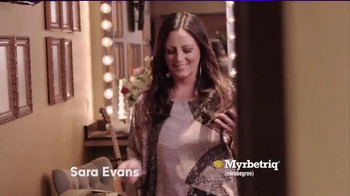 Myrbetriq My Big Break TV Spot, '2016 CMA Awards' Featuring Sara Evans - Thumbnail 2
