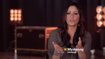Myrbetriq My Big Break TV Spot, '2016 CMA Awards' Featuring Sara Evans - Thumbnail 5