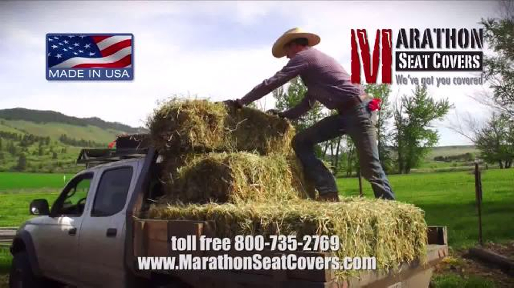 Marathon Seat Covers TV Commercial, 'Life Outdoors'