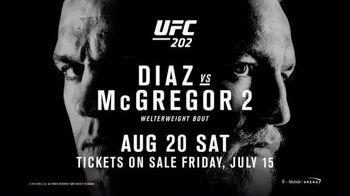 UFC 202 TV Spot, 'Diaz vs. McGregor 2' - 10 commercial airings