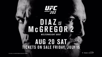 UFC 202 TV Spot, 'Diaz vs. McGregor 2' - 10 commercial airings