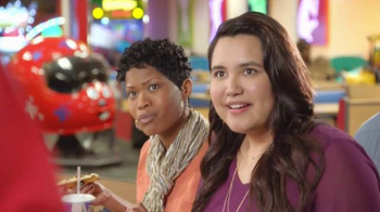 Chuck E. Cheese's TV Spot, 'Adult-Friendly Menu'