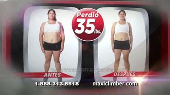 MaxiClimber TV Spot, 'Intensa tonificación muscular' [Spanish] - Thumbnail 4