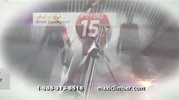 MaxiClimber TV Spot, 'Intensa tonificación muscular' [Spanish] - Thumbnail 5