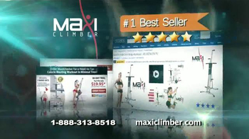 MaxiClimber TV Spot, 'Intensa tonificación muscular' [Spanish] - Thumbnail 6