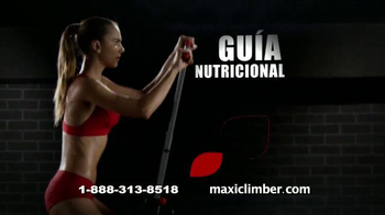 MaxiClimber TV Spot, 'Intensa tonificación muscular' [Spanish]