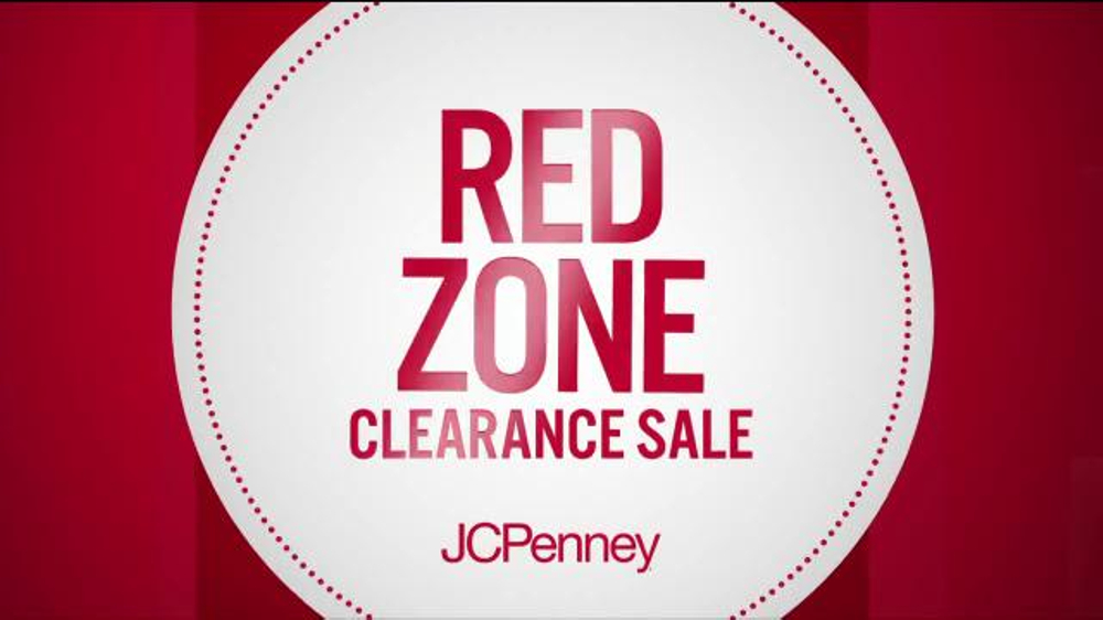 e6dabea57f5 JCPenney Red Zone Clearance Sale TV Commercial