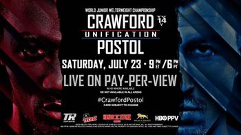 Time Warner Cable Pay-Per-View TV Spot, 'Boxing: Crawford vs. Postol'