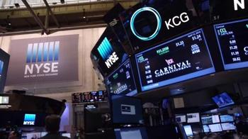 New York Stock Exchange TV Spot, 'Carnival Corporation' - Thumbnail 1