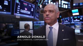 New York Stock Exchange TV Spot, 'Carnival Corporation' - Thumbnail 2