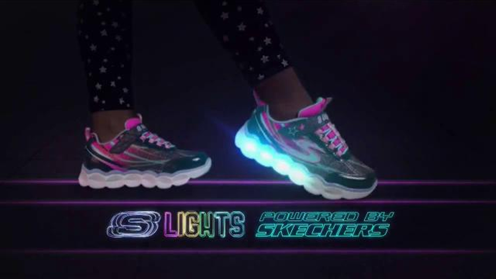 5e46469b42a5 SKECHERS S Lights TV Commercial