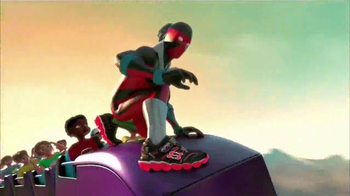 SKECHERS Z Strap TV Spot, 'Amusement Park Monster'