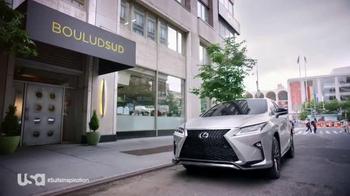 Lexus RX TV Spot, 'USA Network: Suits' Feat. Meghan Markle, Daniel Boulud - Thumbnail 3