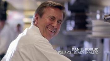 Lexus RX TV Spot, 'USA Network: Suits' Feat. Meghan Markle, Daniel Boulud - Thumbnail 5