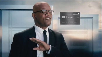 Capital One Quicksilver TV Spot, 'Doors' Featuring Samuel L. Jackson - Thumbnail 4
