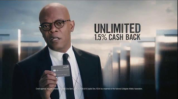 Capital One Quicksilver TV Spot, 'Doors' Featuring Samuel L. Jackson - Thumbnail 5