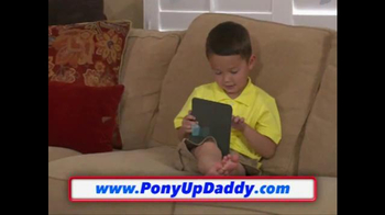 Pony Up Daddy TV Spot, 'Pony Ride Anytime' - Thumbnail 8