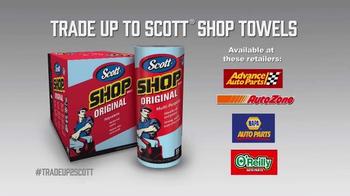 Scott Shop Towels TV Spot, 'No Kitchen Products' - Thumbnail 5
