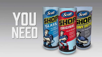 Scott Shop Towels TV Spot, 'No Kitchen Products'