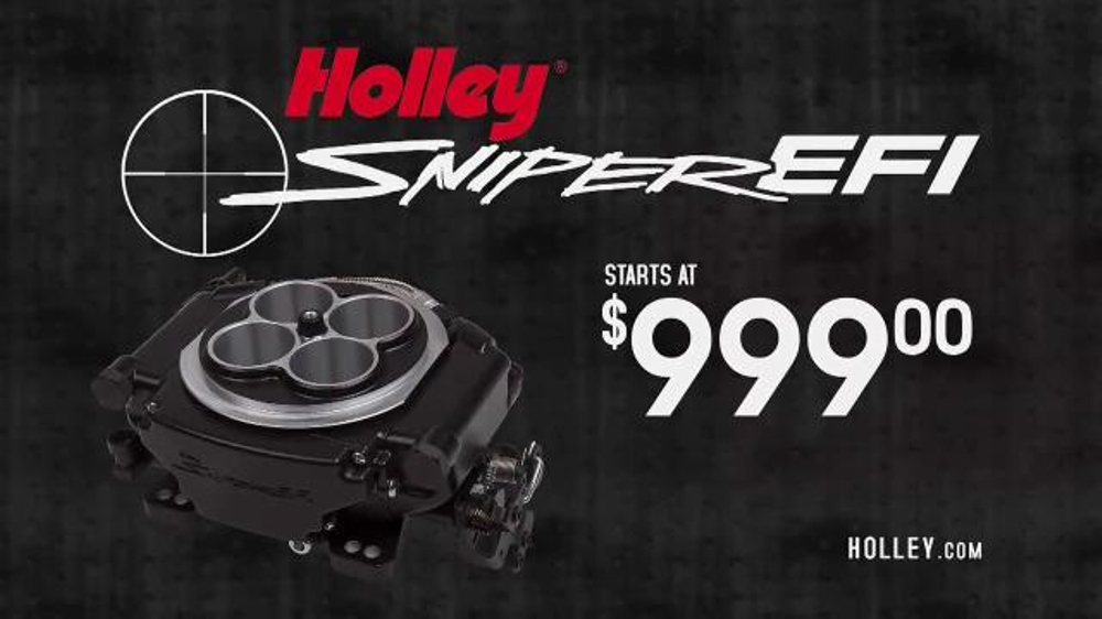 Holley Sniper EFI TV Commercial, 'In Sight' - Video