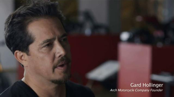Arch Motorcycle Company KRGT-1 TV Spot, 'Build' Featuring Keanu Reeves