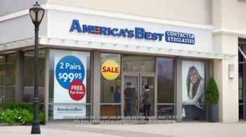 America's Best Contacts and Eyeglasses Karen Millen Sale TV Spot, 'Flying' - Thumbnail 2