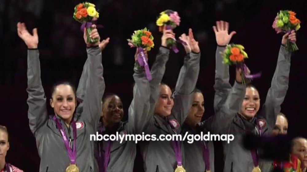 Nbc Gold Map NBC Gold Map TV Commercial, 'Find Your Path: Gymnastics'   iSpot.tv Nbc Gold Map