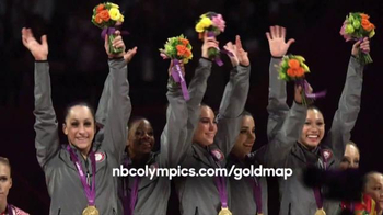 NBC Gold Map TV Spot, 'Find Your Path: Gymnastics' - 2 commercial airings