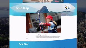 NBC Gold Map TV Spot, 'Find Your Path: Gymnastics' - Thumbnail 8
