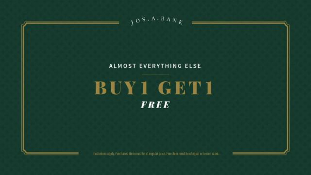 JoS. A. Bank Super Tuesday Sale TV Commercial, 'Buy One Get One'