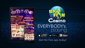 Big Fish Casino TV Spot, 'Playcation' - Thumbnail 7