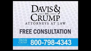 Davis & Crump, P.C. TV Spot, 'Taxotere' - Thumbnail 8