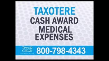 Davis & Crump, P.C. TV Spot, 'Taxotere' - Thumbnail 5