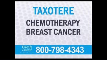 Davis & Crump, P.C. TV Spot, 'Taxotere' - Thumbnail 6