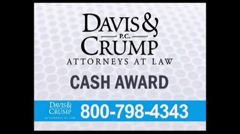 Davis & Crump, P.C. TV Spot, 'Taxotere' - Thumbnail 7