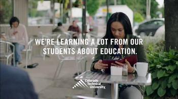 Colorado Technical University Mobile App TV Spot, 'We're Listening' - Thumbnail 1