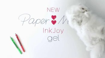 Paper Mate InkJoy Gel Pens TV Spot, 'Cat'
