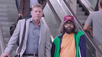 Silvercar TV Spot, 'Airport' Featuring Troy Aikman, Judah Friedlander