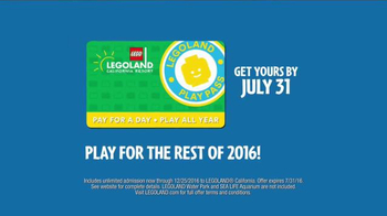 LEGOLAND Play Pass TV Spot, 'For the Rest of the Year' - Thumbnail 9