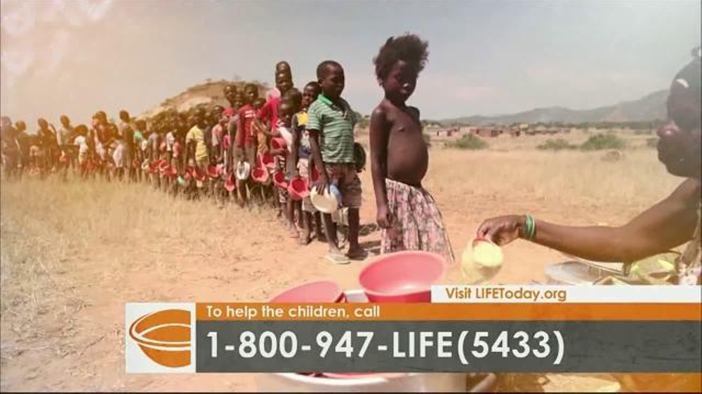 LIFE Outreach International TV Commercial, 'Feed and Care for Hungry Children'
