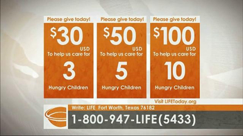 LIFE Outreach International TV Spot, 'Feed and Care for Hungry Children' - Thumbnail 7