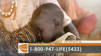 LIFE Outreach International TV Spot, 'Feed and Care for Hungry Children' - Thumbnail 1